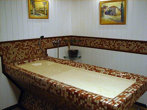 Хаммам подогревной массажный стол